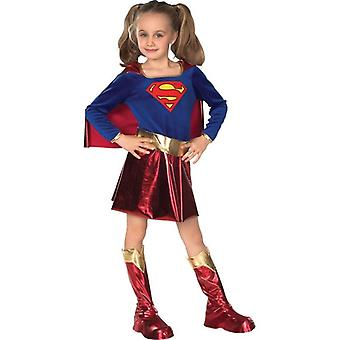 Child Deluxe Supergirl. Size : Small