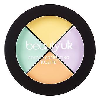 Belleza UK Paleta de corrección de color