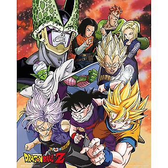 Dragon Ball Z Cell Saga Mini Juliste