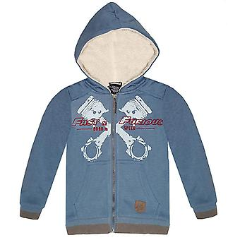 Fast and furious boys sweatjacket hoodie