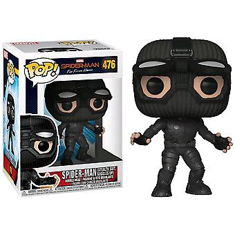 Spider-Man Far From Home Stealth Suit Goggles Up US Exc Pop!