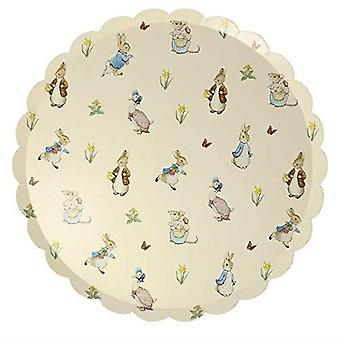 Meri Meri Peter Rabbit & Friends Dinner Paper Party Plate x 12