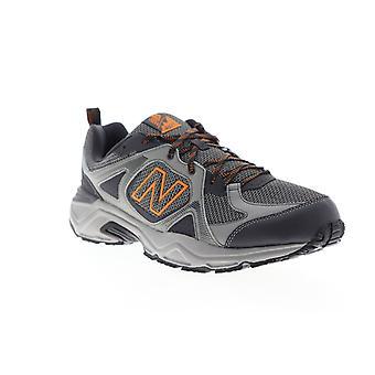 New Balance 481V3  Mens Gray Mesh Lace Up Athletic Running Shoes
