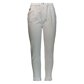 Quacker Factory Women's Pants Regular Jeggings White A346604