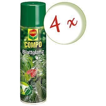 Sparset: 4 x COMPO leaf gloss, 300 ml