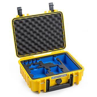 B&W GoPro Case Type 1000 til GoPro HERO 5/6/7, gul med skumindsats