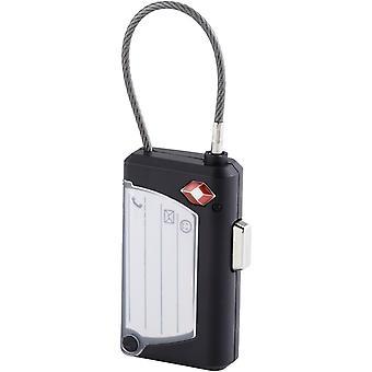 Bullet Phoenix Tsa Luggage Tag And Lock