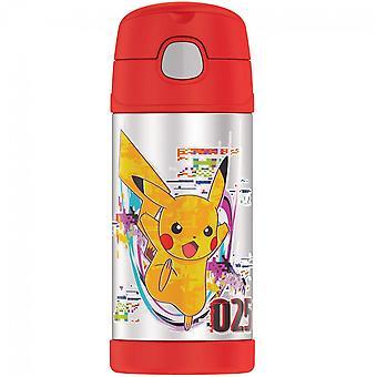 Pokemon Pikachu 12 Oz Thermos Flasche