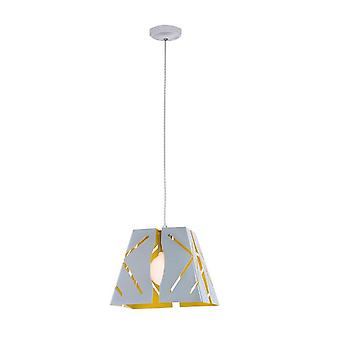 Amelie Color Chrome Metal Lámpara de Suspensión 28x28x120 cm
