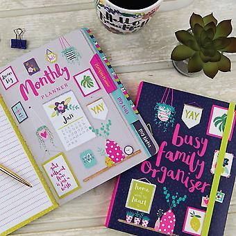 Busy Family Organisateur Notebook Journal x 1