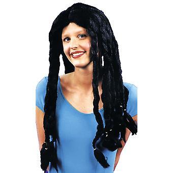 Dredlock Black Wig