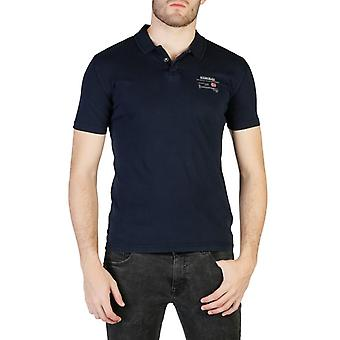 Man cotton short polo japanese black formal wear n33079