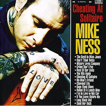 Mike Ness - Cheating at Solitaire [CD] USA import
