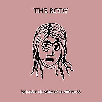 The Body - No One Deserves Happiness [CD] USA import