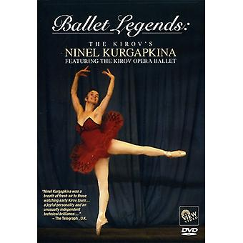 Ballet Legends-Kirovs Ninel Kurgapkina [DVD] USA import