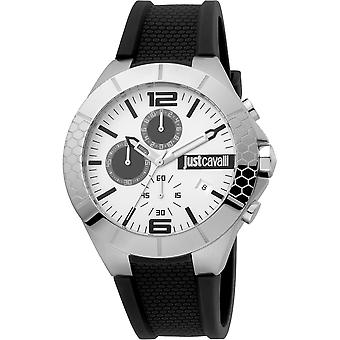 Just Cavalli Sport Watch JC1G081P0015 - Silicon Gents Quartz Chronograph
