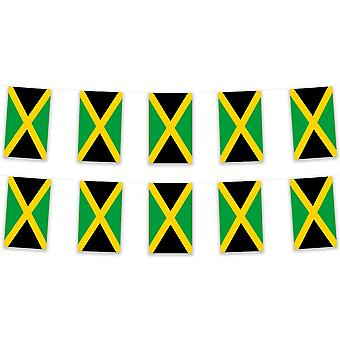 Pack van 3 Jamaica Bunting 15m Caribbean Polyester Fabric Country National