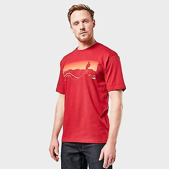 Neue Peter Storm Men's Wanderer T-Shirt rot