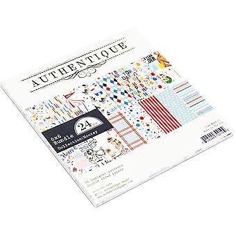 Authentique Hurá 6x6 palcový papír pad