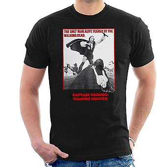 Hammer Horror Films Captain Kronos Only Man Alive Men's T-Shirt