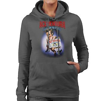 Ace Ventura Pet Detective ID Card Women's Hooded Sweatshirt