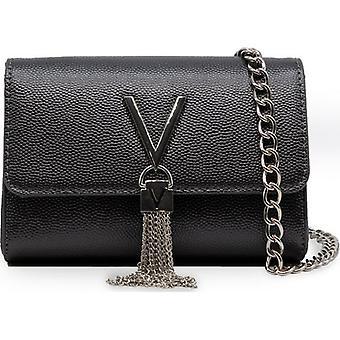 Mario Valentino Divina Small Chain Logo Cross Body Bag