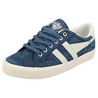 Gola Tennis Mark Cox Naisten Rento Trainers Blue White