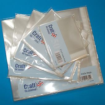 Craft UK Cello Bags 6x6 Inch