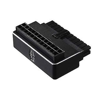 Cooler Master Atx 24 Pin 90 Degree Adapter Capacitors Plug And Play