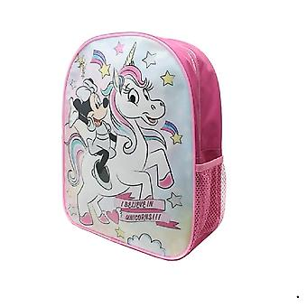 Minnie Mouse Childrens/Kids I Believe In Unicorns Backpack