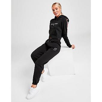 New Pink Soda Sport Women's Core Fleece Joggers Black