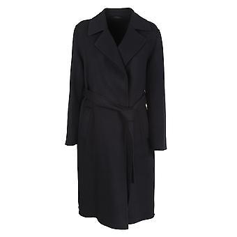 Fermé C9750863v22100 Femmes's Manteau noir viscose