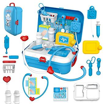 17pcs Medical Kit Doctor Nurse Dentist Pretend Roles Play Toy Set Kids Game Gift