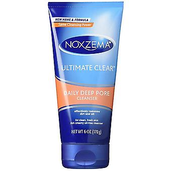 Noxzema ultimate clear daily deep pore cleanser, 6 oz *