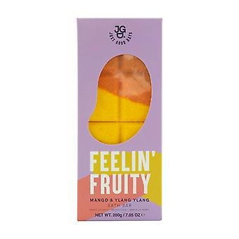 Mango et Ylang Ylang Bath Bars Bubble Bath Foam Additive 200g