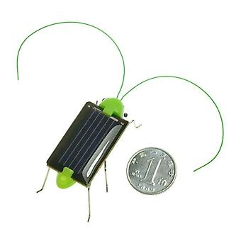 Solar Grasshopper Insect Bug Moving Toy, Lovely Funny Mini Solar Toy,  Insect
