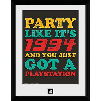 PlayStation Party Like Its 94 Collector Print