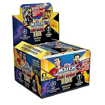 Match Attax 101 2019/20 7 Cards In A Display Box (Pack Of 50)