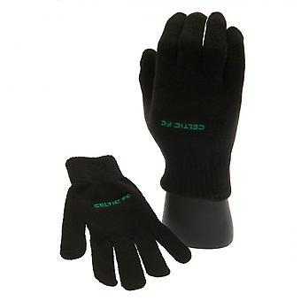 Celtic FC Detské/deti pletené rukavice