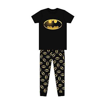 Men's DC Sarjakuvat Batman Klassinen Logo Painettu Pyjama Set