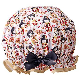 Japanese Dolls Shower Cap