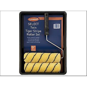Lynwood Twin Roller-Tiger Stripe 9in RT930