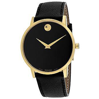 Movado Men-apos;s Museum Sport Black Dial Watch - 607195