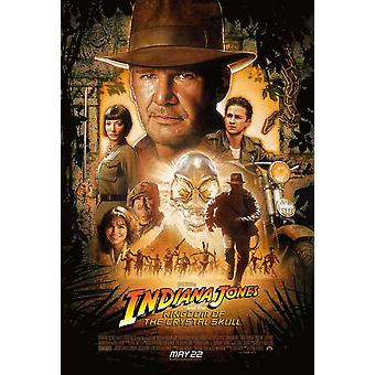 Indiana Jones And The Kingdom Of The Crystal Skull Original Cinema Poster Final Style