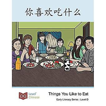 Dingen die je graag eet - Early Literacy D2 (Paperback)
