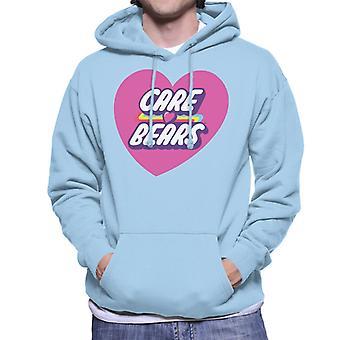 Care Bears Låsa Magic Pink Heart Men & apos, s Hooded Tröja