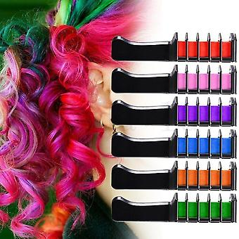Non Toxic, Hair Color Comb- Temporary Dye