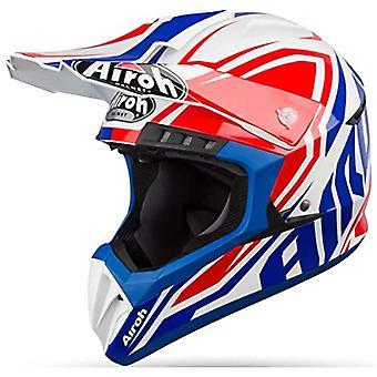 Airoh Switch Impact Full Face Motorradhelm Blau