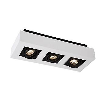 Modern oppervlak gemonteerd wit, zwart 3 licht, GU10