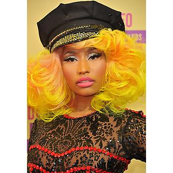Nicki Minaj At Arrivals For 2012 Mtv Video Music Awards Vma - Arrivals Staples Center Los Angeles Ca September 6 2012 Photo By Dee CerconeEverett Collection Photo Print
